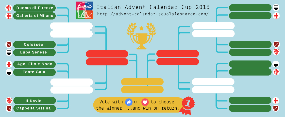 Vote to choose the winner.. . and Win on return! Get a chance to win with our Advent Calendar!