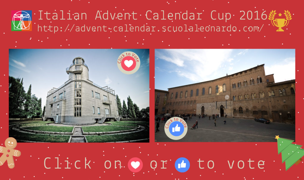 Siena VS Milan - Vote for the Antico Spedale or Vialla Invernizzi