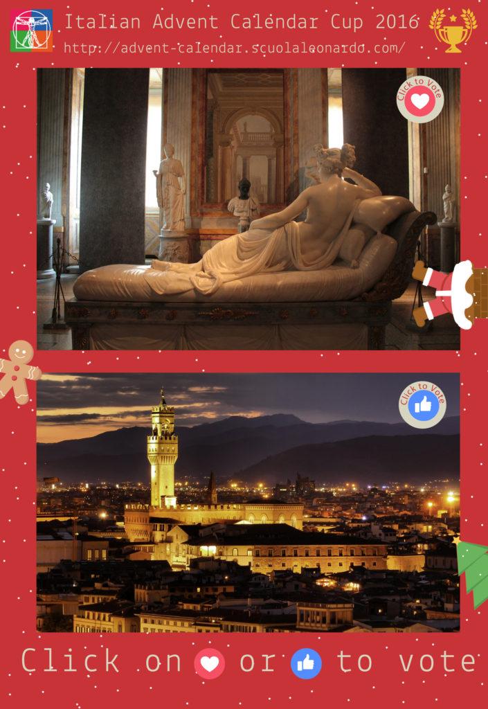 Rome VS Florence - Vote for the Galleria Borghese or Palazzo Vecchio