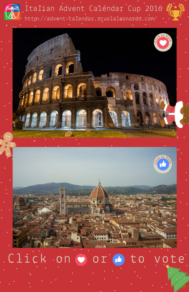 Florence vs Rome - Vote for the Duomo or the Colosseo