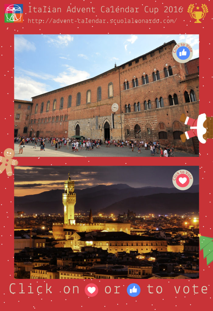 Siena VS Florence - Vote for the Antico Spedale or Palazzo Vecchio