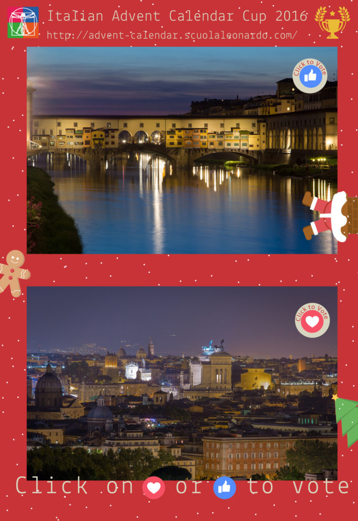 Florence VS Rome - Vote for the Ponte Vecchio or Gianicolo