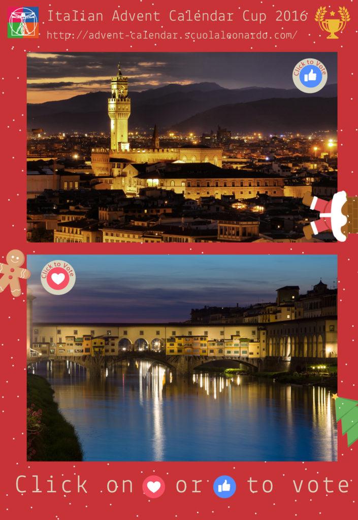 Florence VS Florence - Vote for the Palazzo Vecchio or the Ponte Vecchio